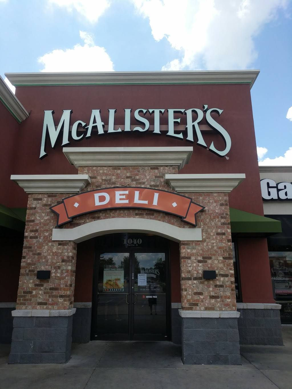 McAlisters Deli | restaurant | 1040 US 49 A, Richland, MS 39218, USA | 6019364441 OR +1 601-936-4441
