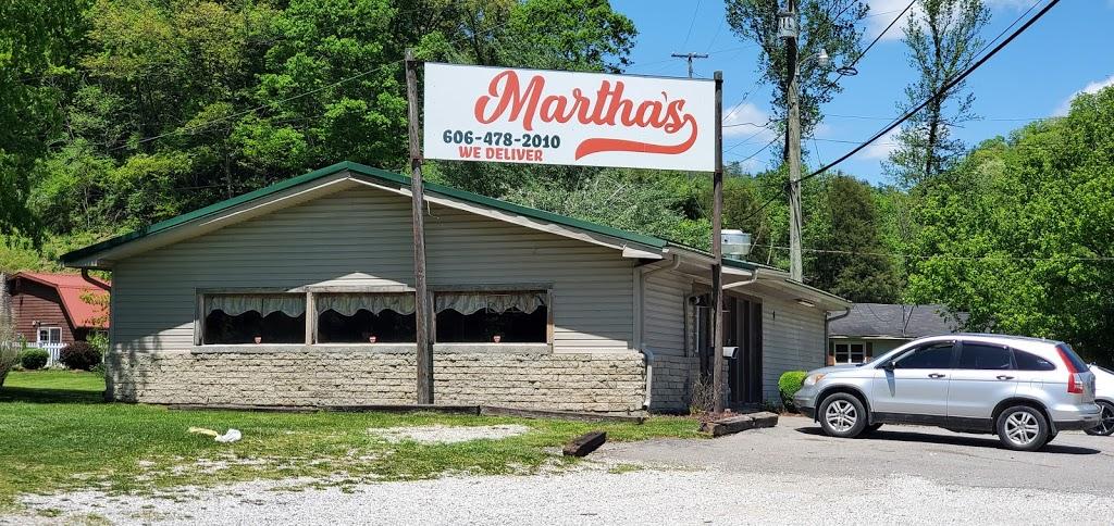 Marthas   restaurant   43 Ivy Creek, Ivel, KY 41642, USA   6064782010 OR +1 606-478-2010