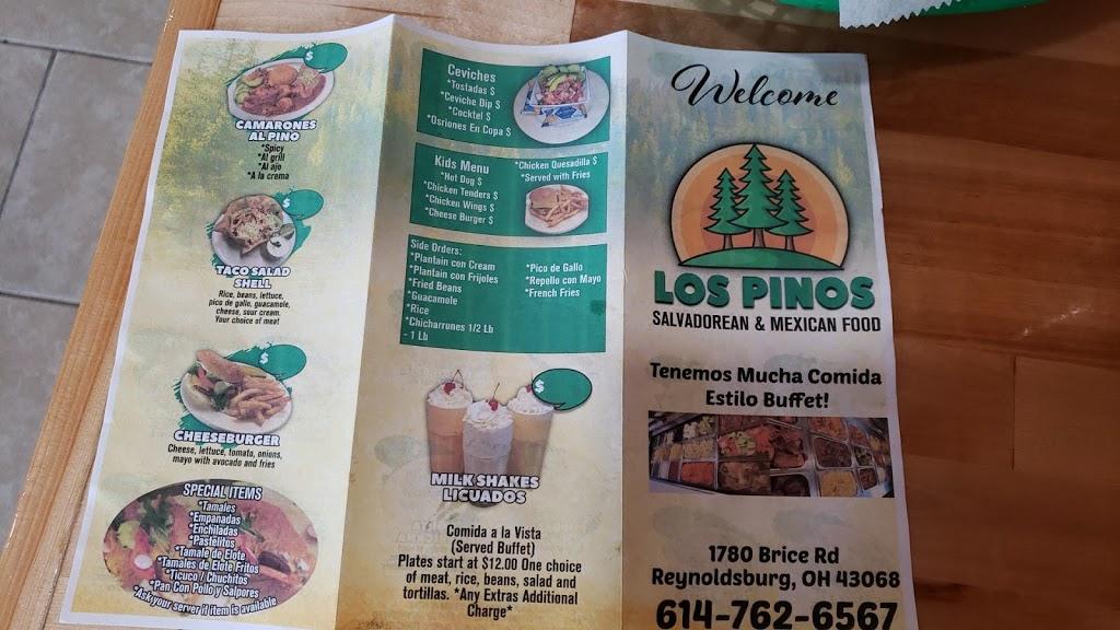 Los Pinos salvadorean and mexican food | restaurant | 1780 Brice Rd, Reynoldsburg, OH 43068, USA | 6147626567 OR +1 614-762-6567