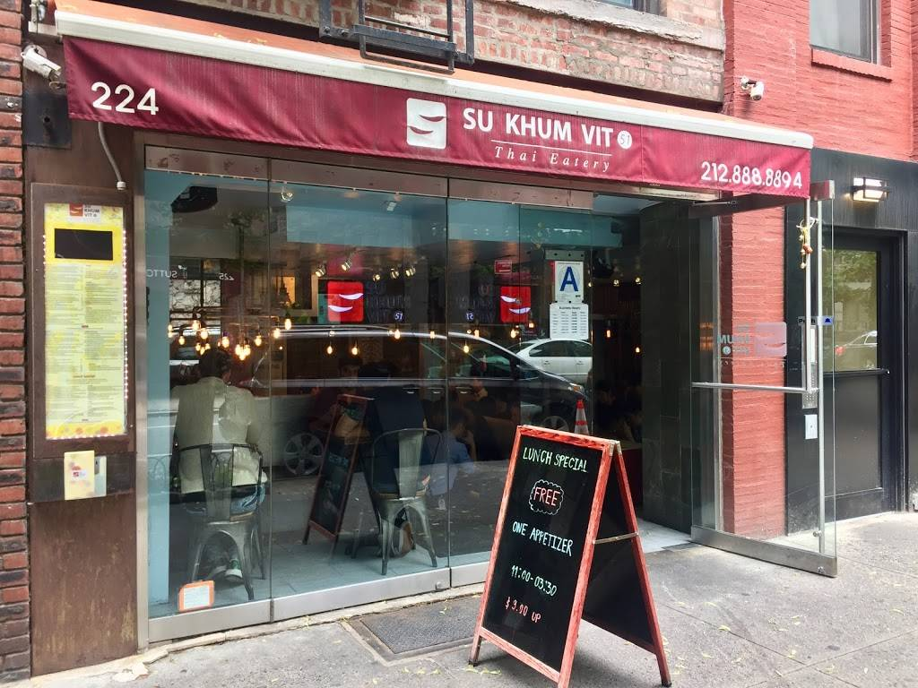 Sukhumvit 51 | restaurant | 224 E 51st St, New York, NY 10022, USA | 2128888894 OR +1 212-888-8894