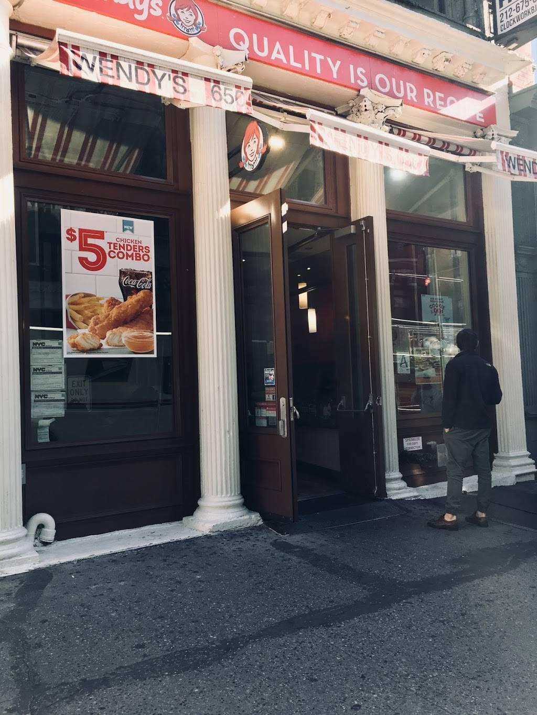 Wendys | restaurant | 650 Broadway, New York, NY 10012, USA | 2126745404 OR +1 212-674-5404