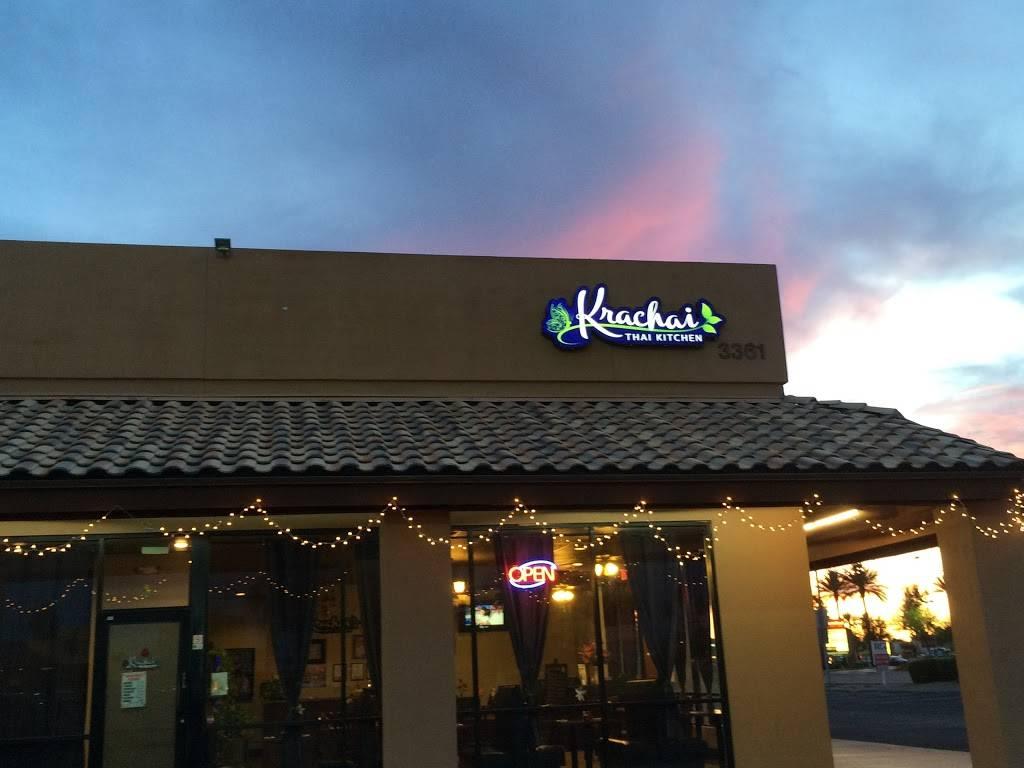 Krachai Thai Kitchen Restaurant 3361 W Greenway Rd Phoenix Az 85053 Usa