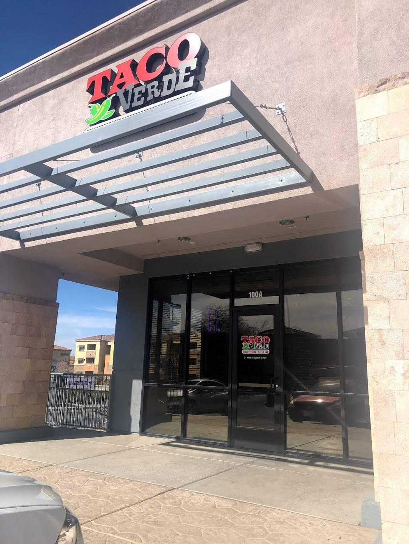 Taco Verde | restaurant | 1445 American Pacific Dr, Henderson, NV 89074, USA