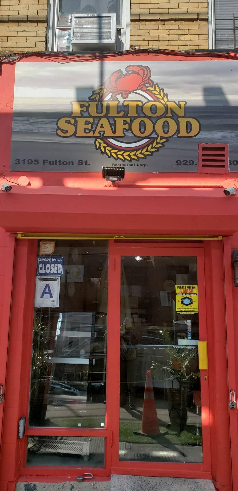 Fulton seafood | restaurant | 3195 Fulton St, Brooklyn, NY 11208, USA