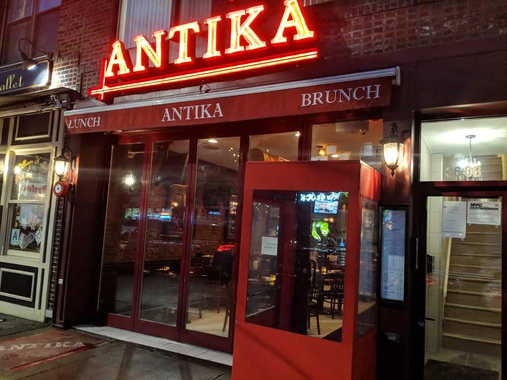 Antika   restaurant   36-08 30th Ave, Astoria, NY 11103, USA   7185450555 OR +1 718-545-0555