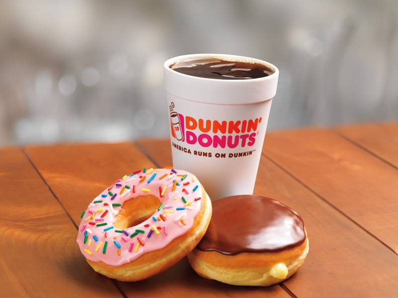 Dunkin Donuts | cafe | 90 Broad St, New York, NY 10004, USA | 2124227991 OR +1 212-422-7991
