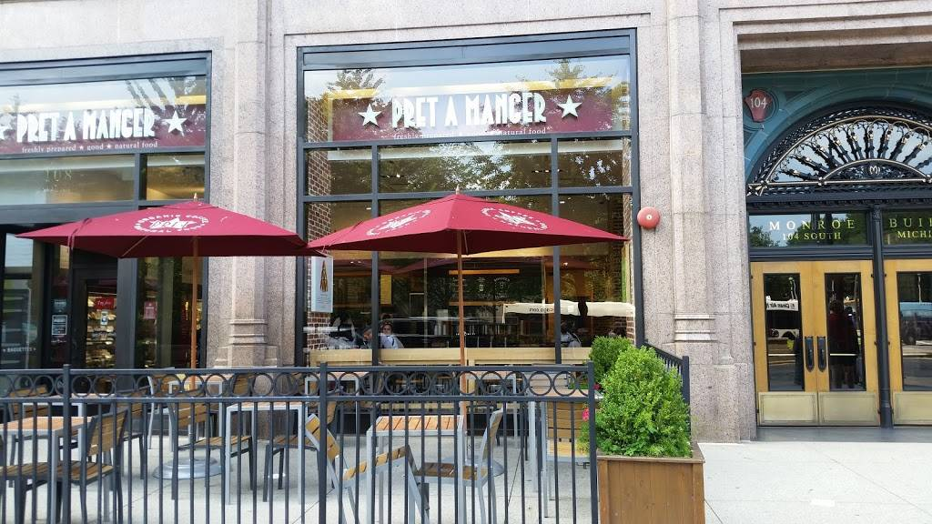 Pret A Manger   meal takeaway   225 N Michigan Ave, Chicago, IL 60601, USA   3128193298 OR +1 312-819-3298