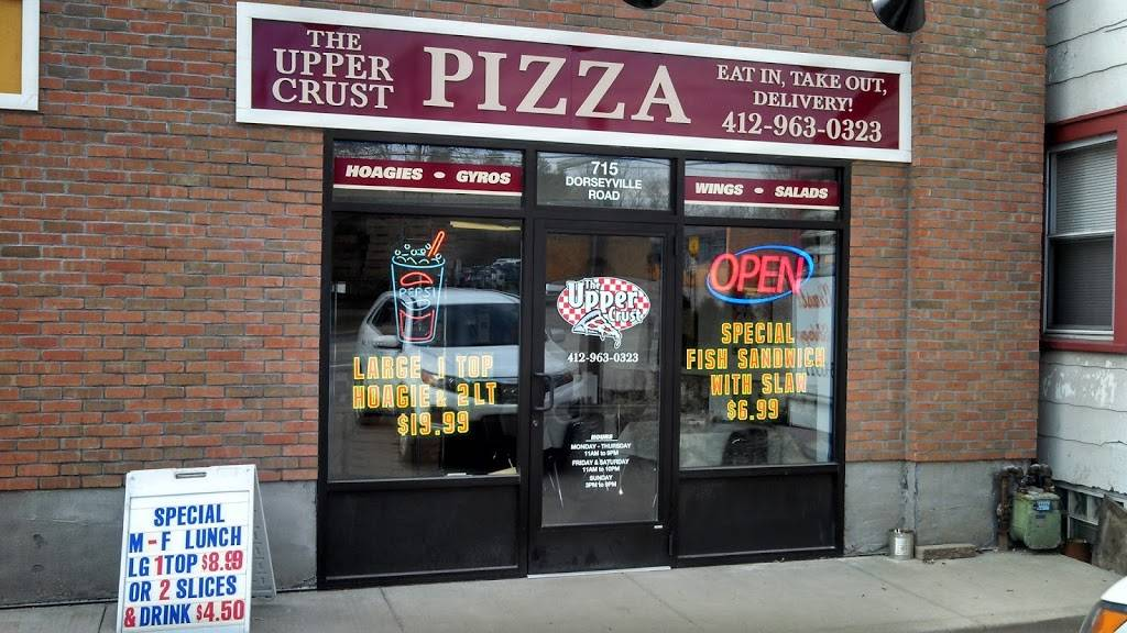 The Upper Crust Pizza | meal delivery | 3392 Saxonburg Blvd #350, Glenshaw, PA 15116, USA | 4129630323 OR +1 412-963-0323