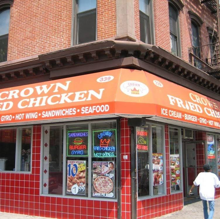 Crown Fried Chicken & Pizza | restaurant | 3216, 339 Myrtle Ave, Brooklyn, NY 11205, USA | 7182220151 OR +1 718-222-0151
