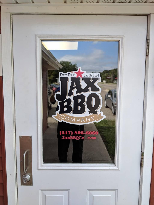 Jax Bbq | restaurant | 107 E Jackson Rd, Concord, MI 49237, USA | 5178956060 OR +1 517-895-6060
