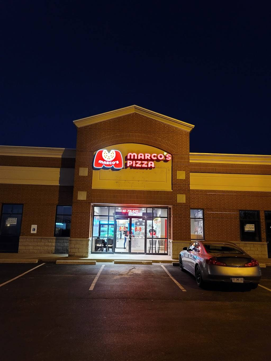 Marcos Pizza | meal delivery | 330 W Farm Rd 182 Suite K, Springfield, MO 65810, USA | 4177088400 OR +1 417-708-8400