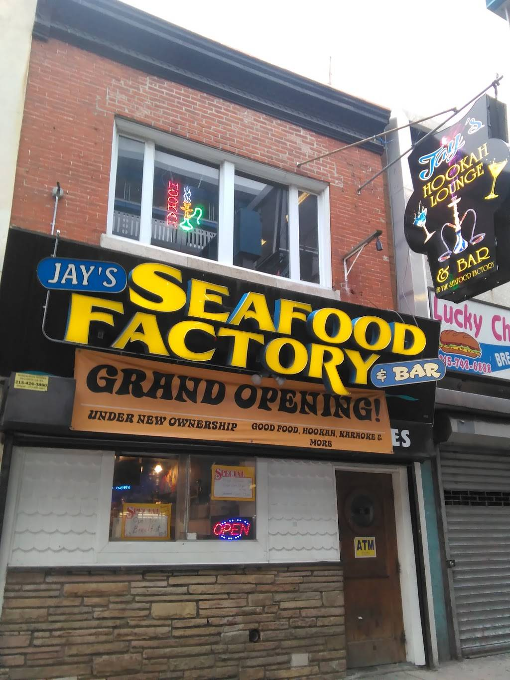Jay's Seafood Factory & Hookah Lounge ...