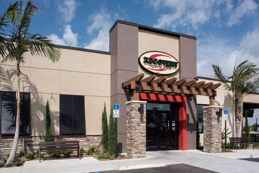 Recovery Sports Grill | restaurant | 10350 SW Don, R. Led, NW Duke Ave, Port St. Lucie, FL 34987, USA | 7723458490 OR +1 772-345-8490