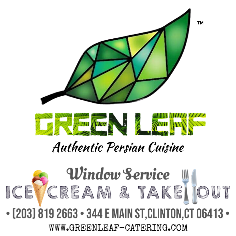 Green Leaf (Ice-cream & Take-out) | meal takeaway | 344 E Main St, Clinton, CT 06413, United States | 2038192663 OR +1 203-819-2663