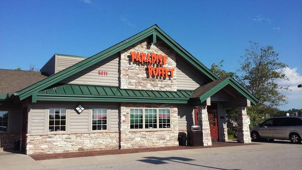 Paradise Buffet   restaurant   1411 Shook Dr, Auburn, IN 46706, USA   2609256966 OR +1 260-925-6966