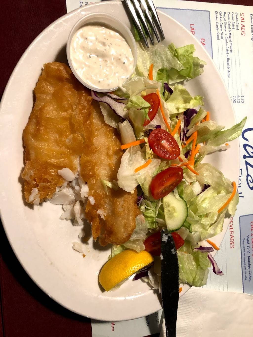 Cazs Great Fish Cambridge | meal delivery | 10 Pinebush Rd, Cambridge, ON N1R 5S4, Canada | 5196216081 OR +1 519-621-6081
