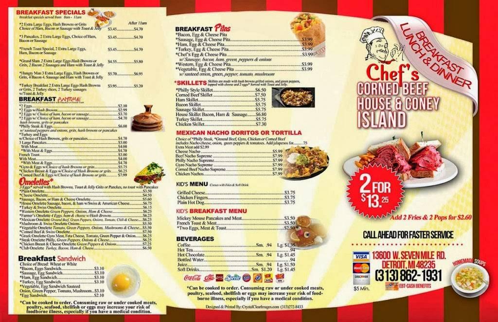 T&J Coney Island | restaurant | 13600 W 7 Mile Rd, Detroit, MI 48235, USA | 3138621931 OR +1 313-862-1931