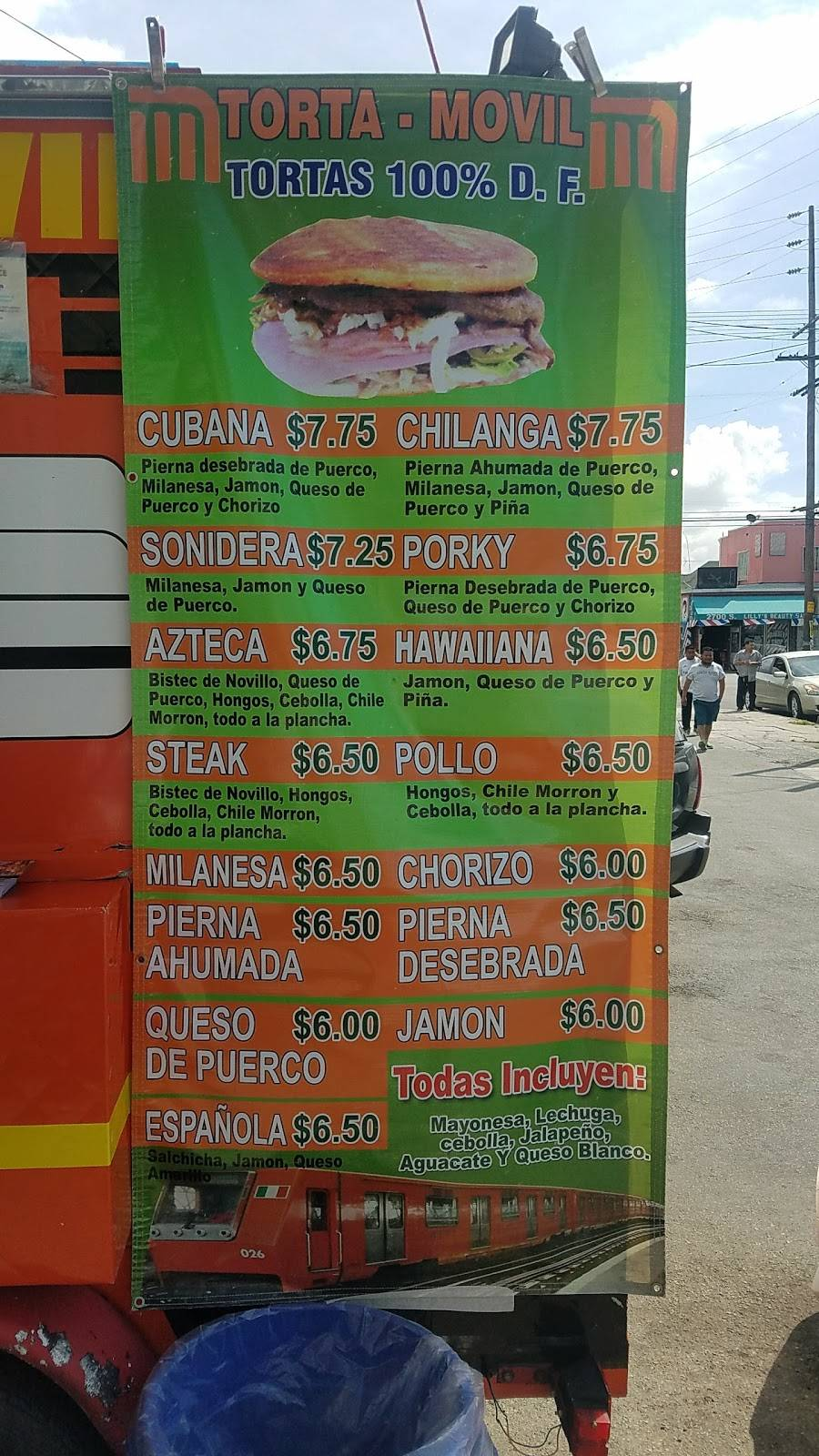 Torta Movil | restaurant | 2623 San Pedro St, Los Angeles, CA 90011, USA | 3235733968 OR +1 323-573-3968