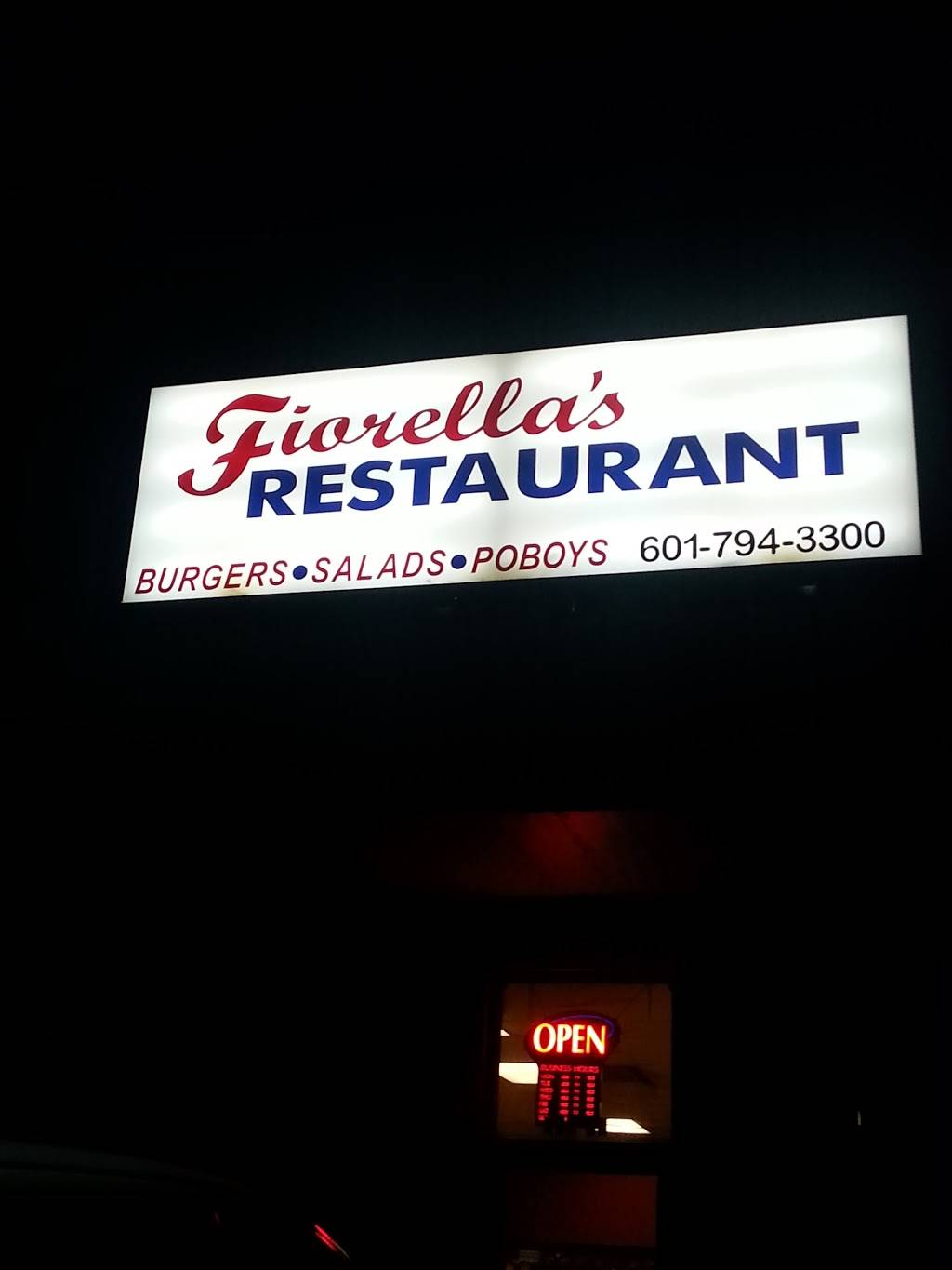 Fiorellas of Purvis | restaurant | 176 Shelby Speights Dr, Purvis, MS 39475, USA | 6017943300 OR +1 601-794-3300