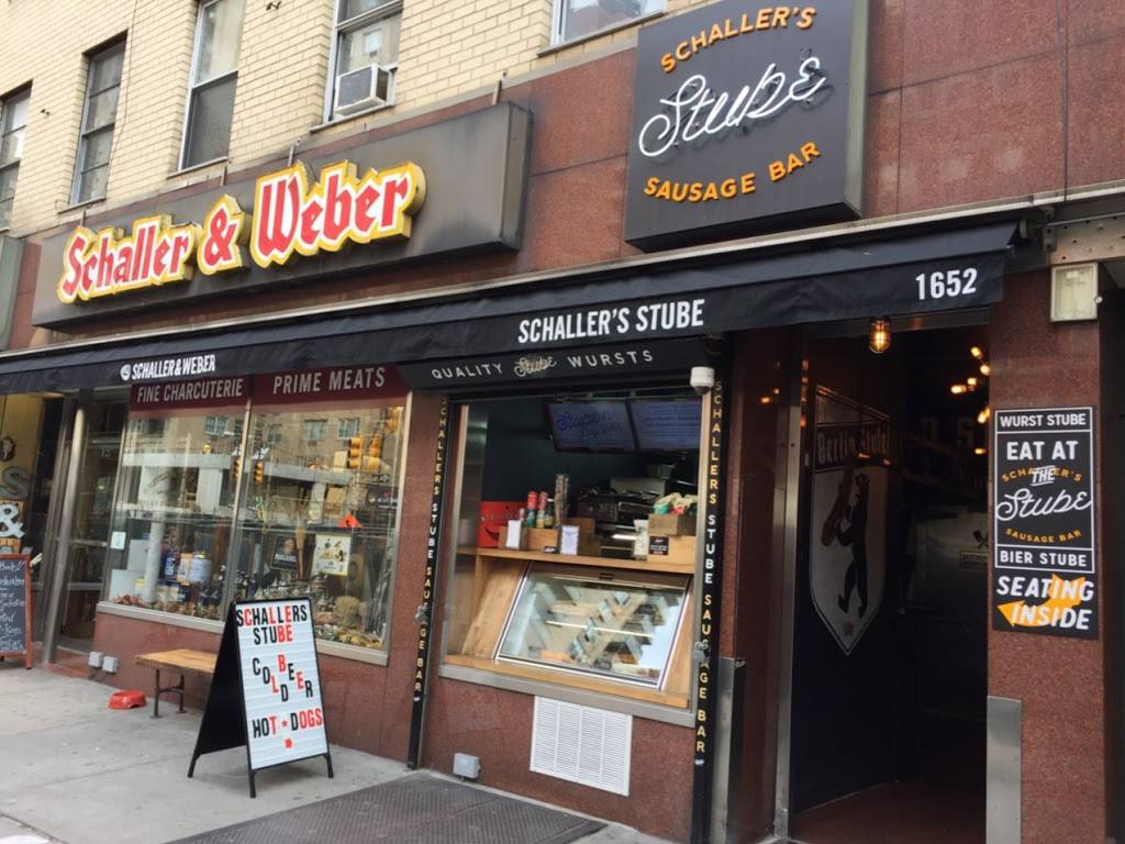 Schallers Stube Sausage Bar | restaurant | 1652 2nd Ave, New York, NY 10028, USA | 6467264355 OR +1 646-726-4355
