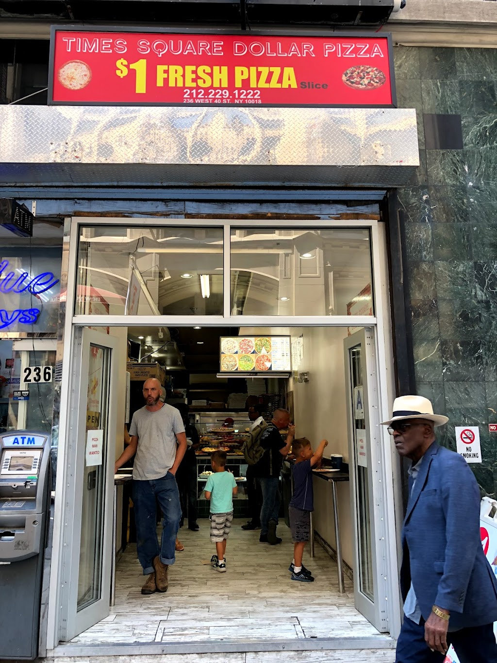 New Times Square Pizza LLC | meal delivery | 236 W 40th St, New York, NY 10018, USA | 2122291222 OR +1 212-229-1222