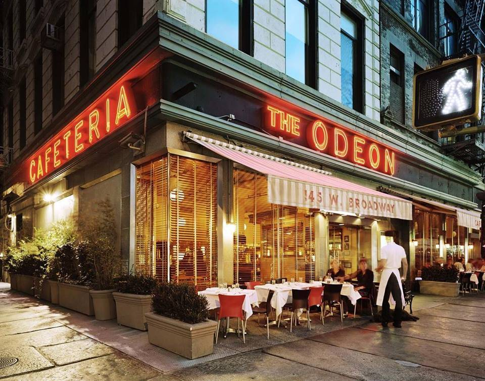 The Odeon | restaurant | 145 W Broadway, New York, NY 10013, USA | 2122330507 OR +1 212-233-0507