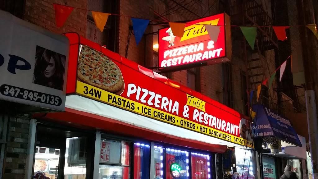 Tutis | restaurant | 34 W 183rd St, Bronx, NY 10453, USA | 3475770182 OR +1 347-577-0182