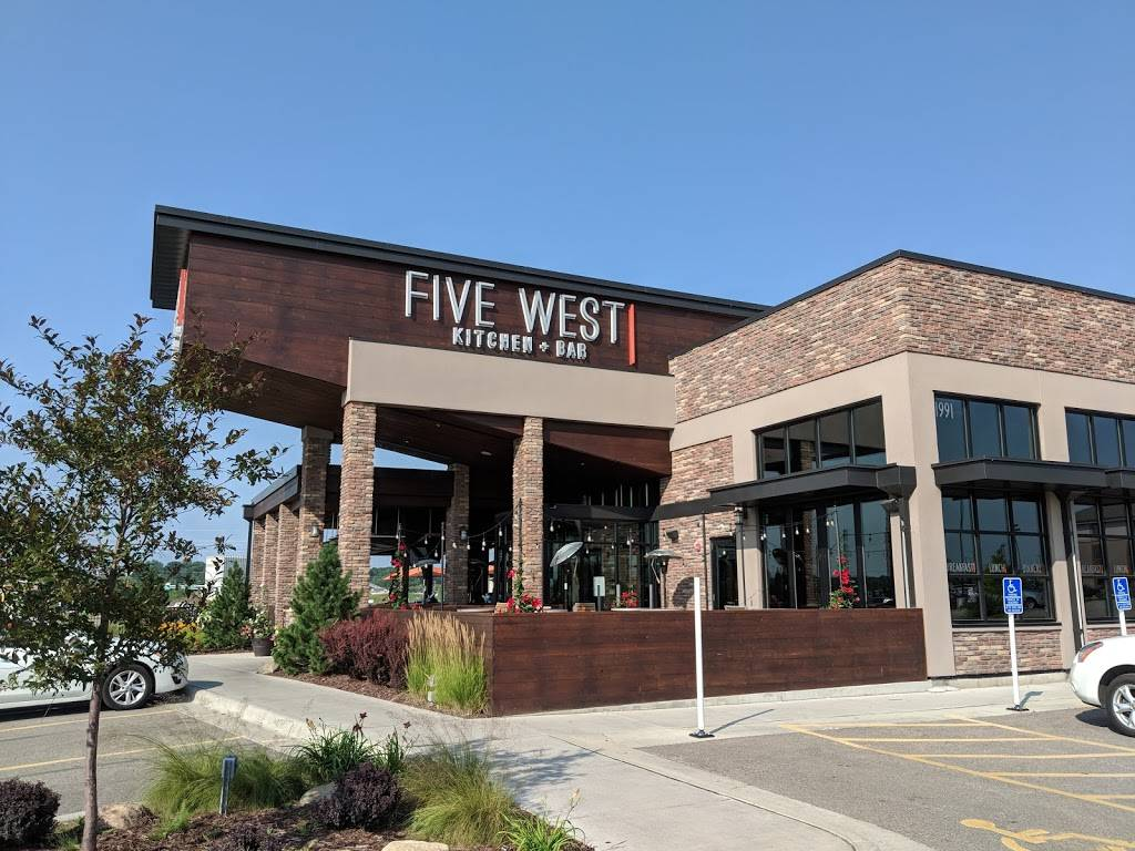 Five West | restaurant | 1991 Commerce Dr NW, Rochester, MN 55901, USA | 5073615555 OR +1 507-361-5555