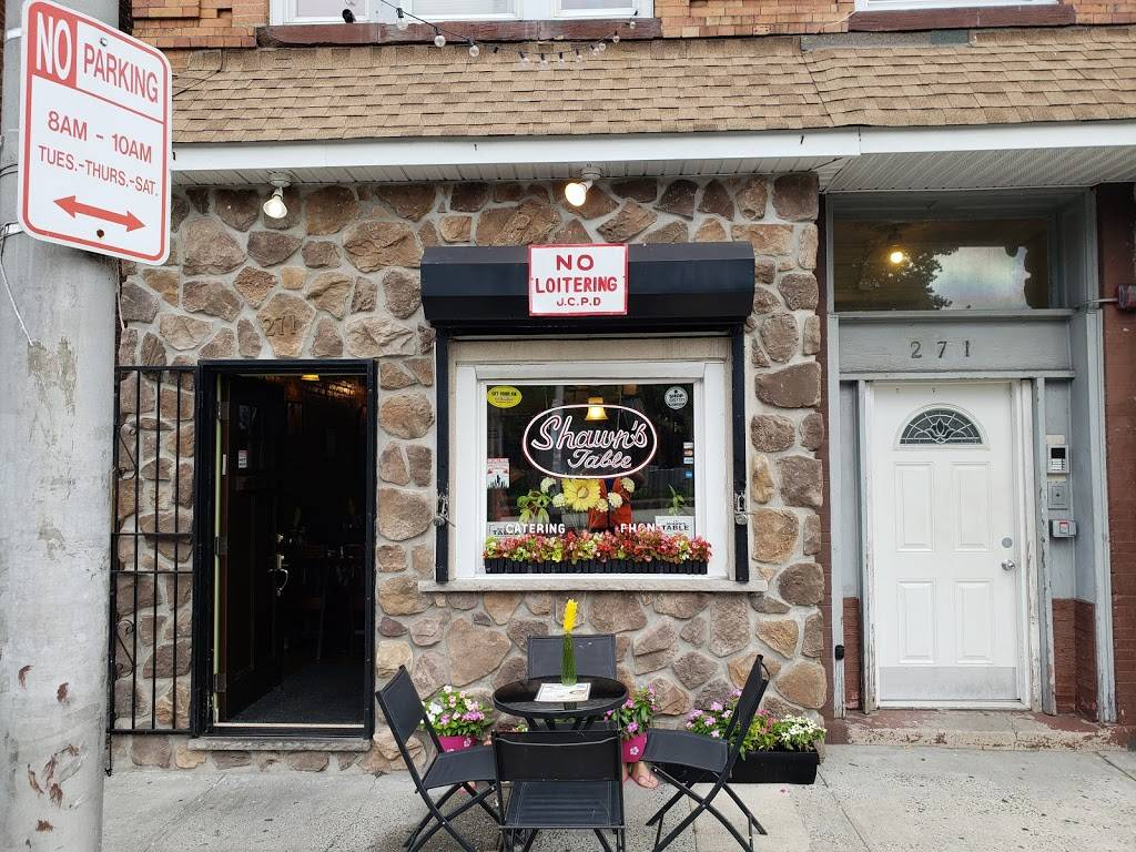 Shawns Table | restaurant | 271 Ocean Ave, Jersey City, NJ 07305, USA | 2016687149 OR +1 201-668-7149