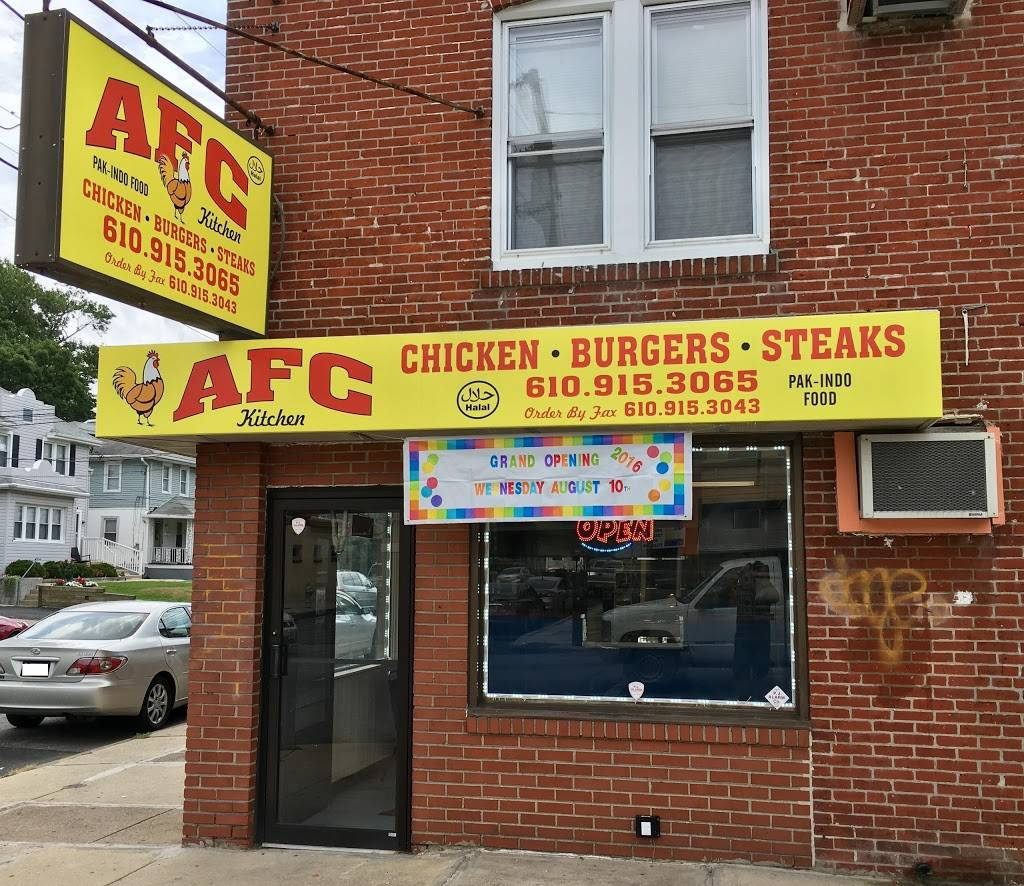 AFC Kitchen | meal takeaway | 700 MacDade Blvd, Collingdale, PA 19023, USA | 6109153065 OR +1 610-915-3065