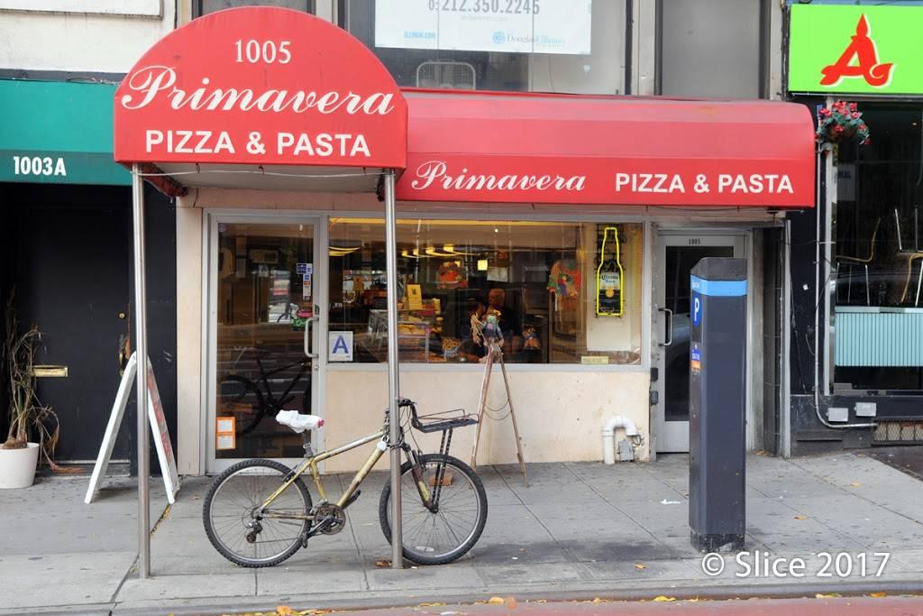Primavera Pizza & Pasta | restaurant | 1005 2nd Avenue A, New York, NY 10022, USA | 2127532772 OR +1 212-753-2772