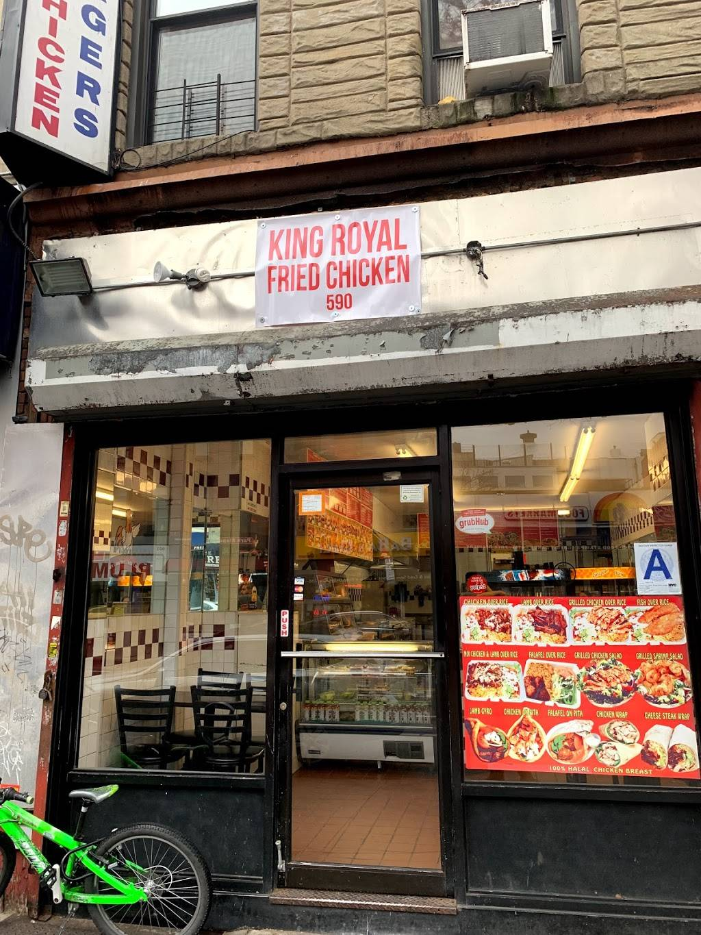 Royal Fried Chicken | meal delivery | 590 5th Ave, Brooklyn, NY 11215, USA | 7189650893 OR +1 718-965-0893