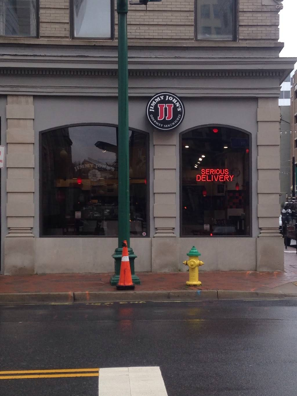 Jimmy Johns | meal delivery | 140 Granby St, Norfolk, VA 23510, USA | 7579657600 OR +1 757-965-7600