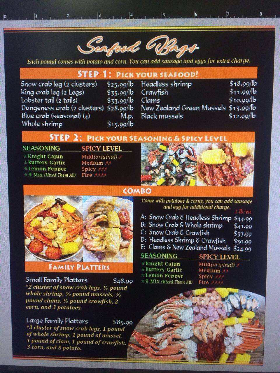 Crab Knight Daytona Beach | restaurant | 2563 N Atlantic Ave, Daytona Beach, FL 32118, USA | 3862389862 OR +1 386-238-9862