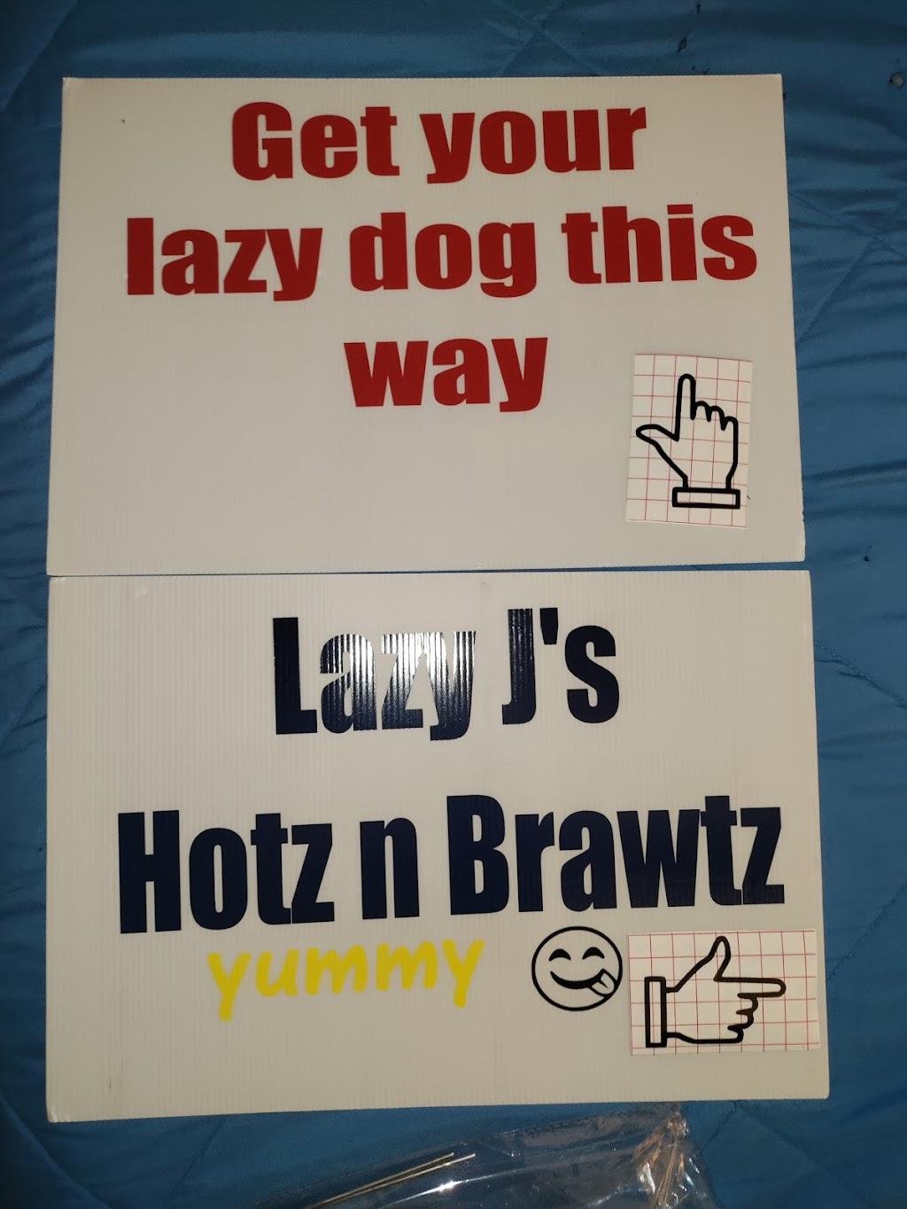 Lazy Js Hotz n Brawtz   restaurant   NC-172, Sneads Ferry, NC 28460, USA   9105267771 OR +1 910-526-7771