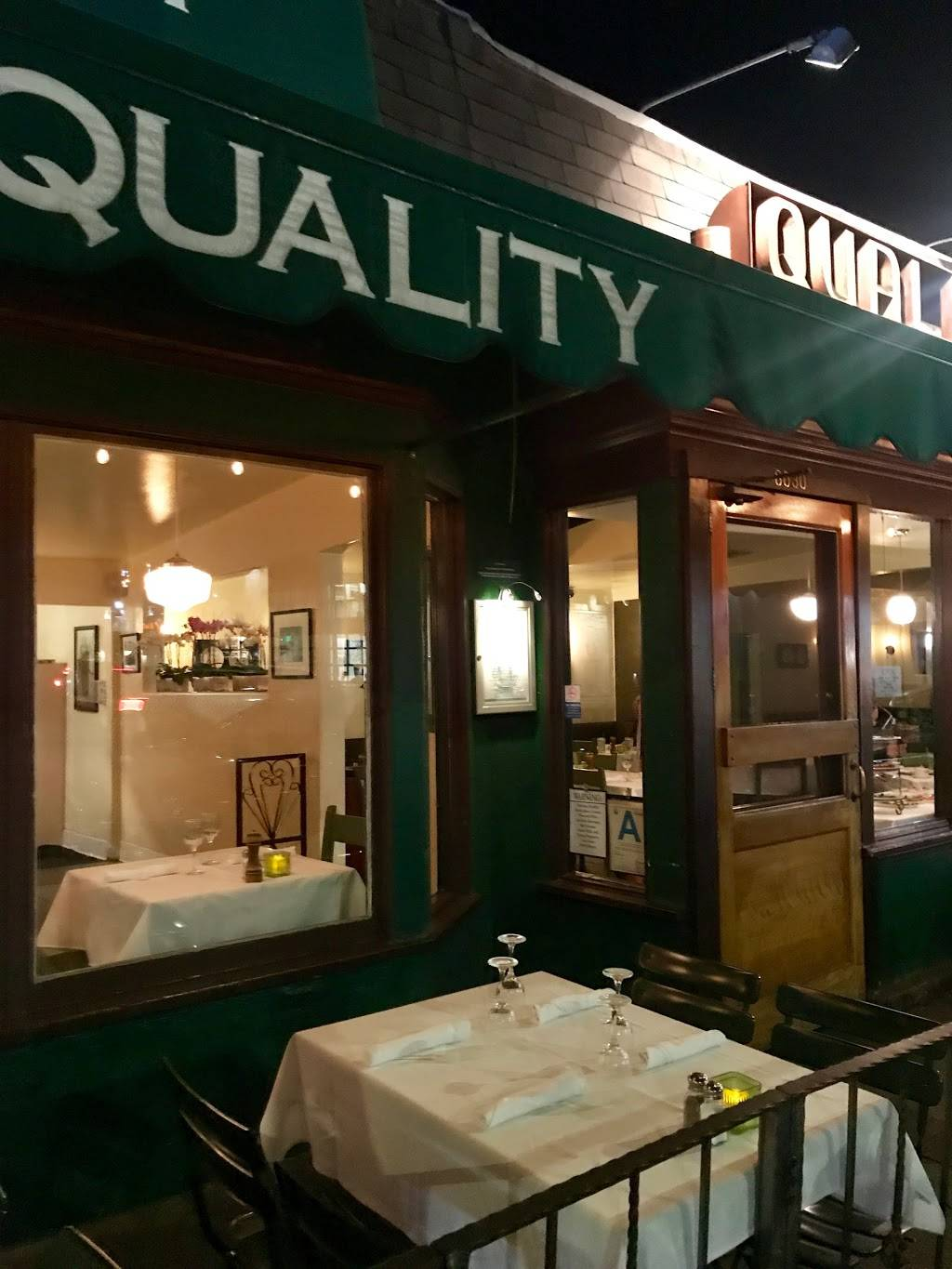 Quality Food & Beverage   restaurant   8030 W 3rd St, Los Angeles, CA 90048, USA   3236585959 OR +1 323-658-5959