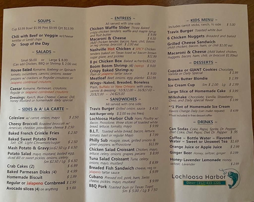Lochloosa Harbor Diner   restaurant   15008 US-301, Hawthorne, FL 32640, USA   3522628157 OR +1 352-262-8157