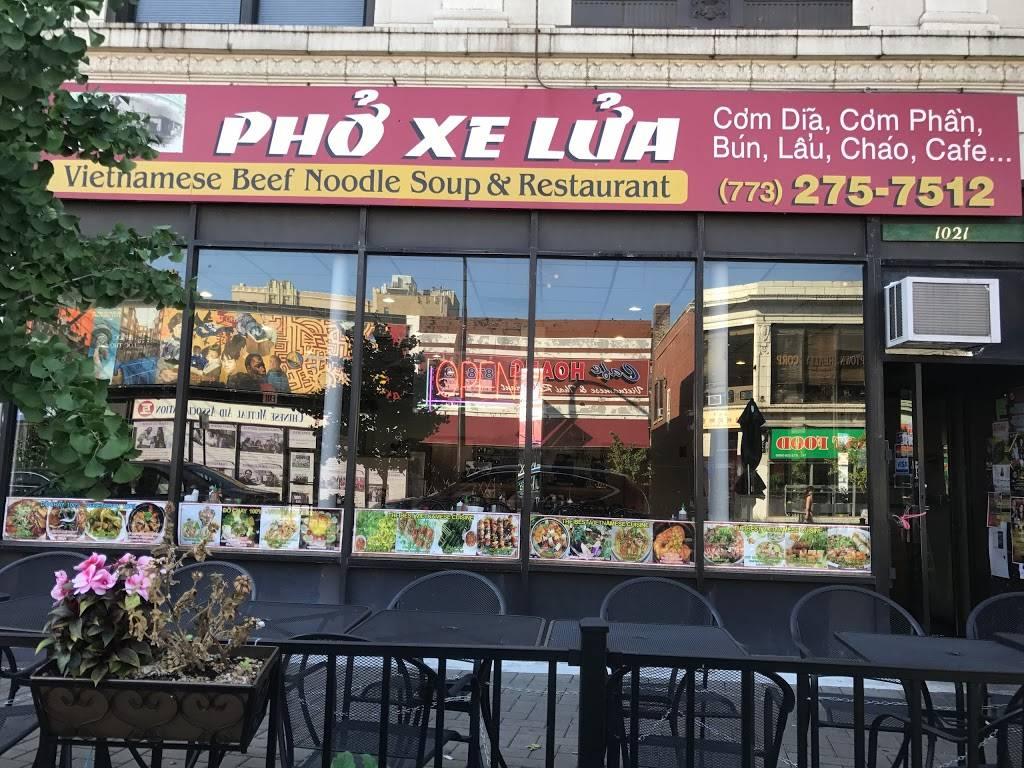 Pho Xe Lua | restaurant | 1021 W Argyle St, Chicago, IL 60640, USA | 7732757512 OR +1 773-275-7512