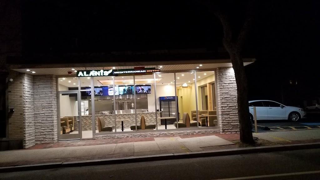 Alanis Mediterranean Bistro | restaurant | 74 Rolfe Square, Cranston, RI 02910, USA