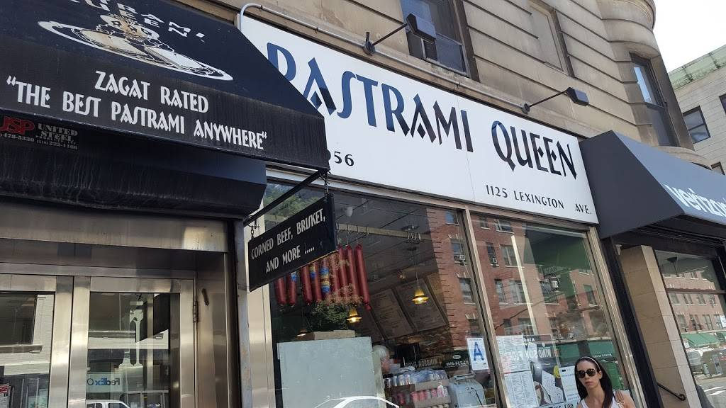 Pastrami Queen | meal takeaway | 1125 Lexington Ave # 2, New York, NY 10075, USA | 2127341500 OR +1 212-734-1500