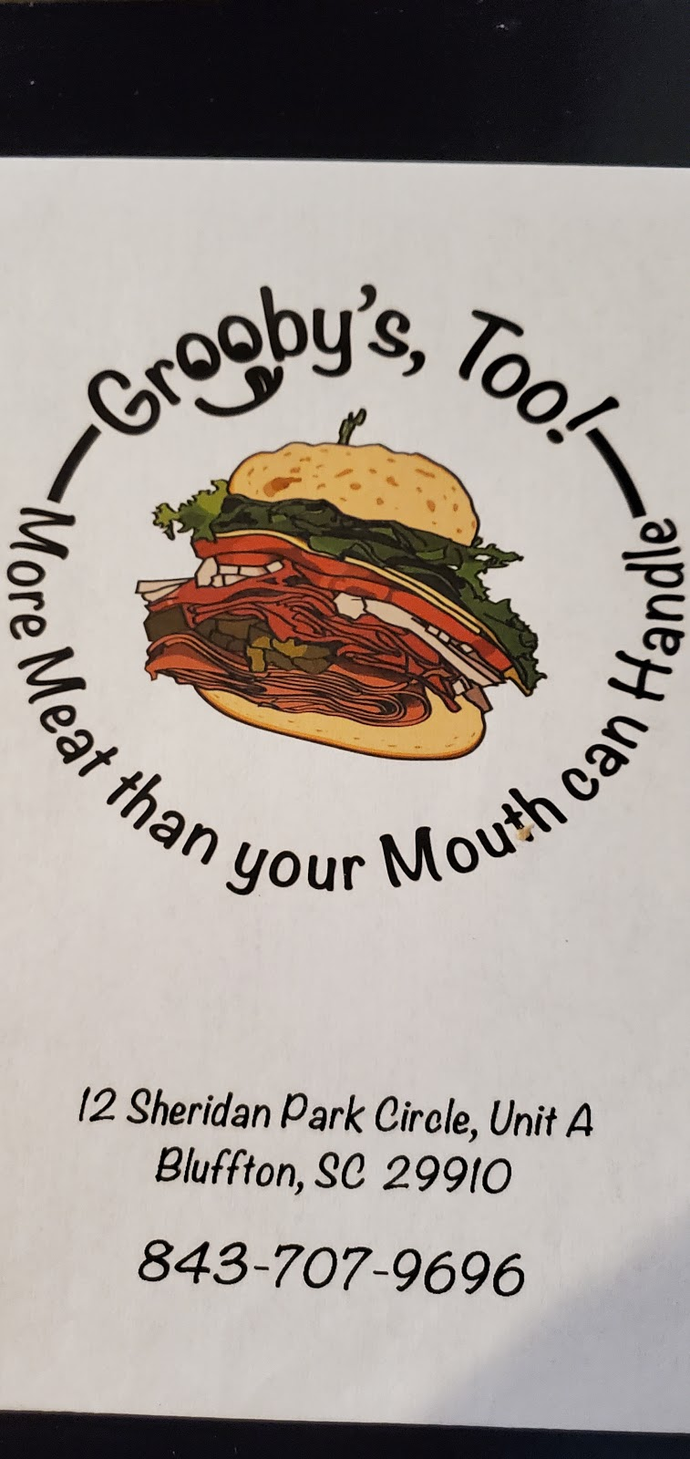Groobys Too! | restaurant | 12a Sheridan Park Cir, Bluffton, SC 29910, USA | 8437079696 OR +1 843-707-9696