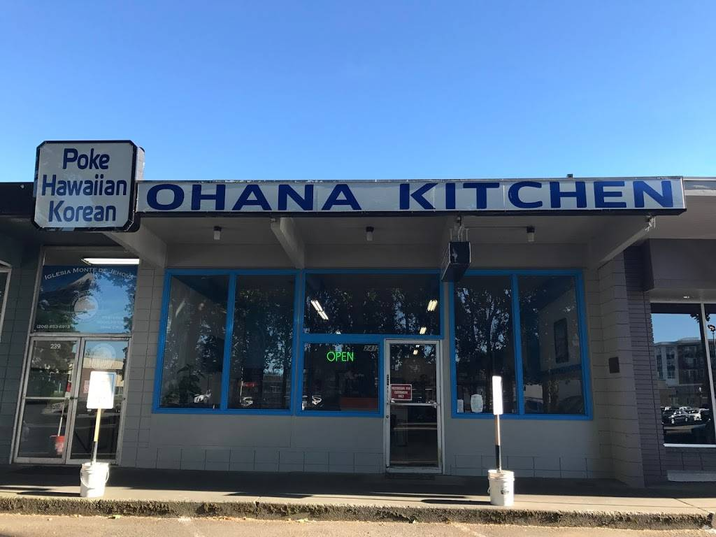 Ohana Kitchen Restaurant 241 Sw 152nd St Burien Wa 98166 Usa
