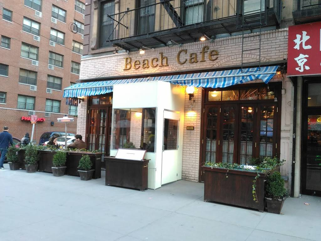 Beach Cafe | restaurant | 1326 2nd Ave, New York, NY 10021, USA | 2129887299 OR +1 212-988-7299