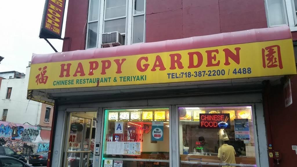 Happy Garden   restaurant   2615, 103 Graham Ave, Brooklyn, NY 11206, USA   9176510657 OR +1 917-651-0657