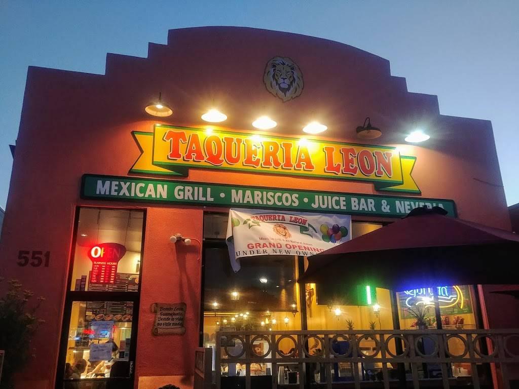 Taqueria Leon | restaurant | 551 San Mateo Ave, San Bruno, CA 94066, USA | 6505898762 OR +1 650-589-8762