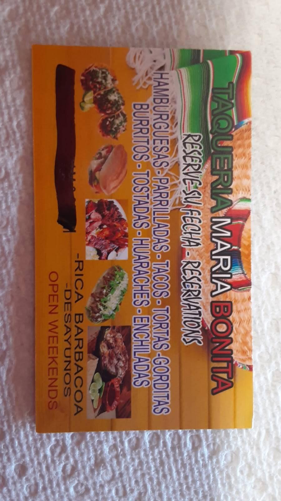 Taqueria Maria Bonita | restaurant | 21120 TX-105, Cleveland, TX 77328, USA | 9364439817 OR +1 936-443-9817