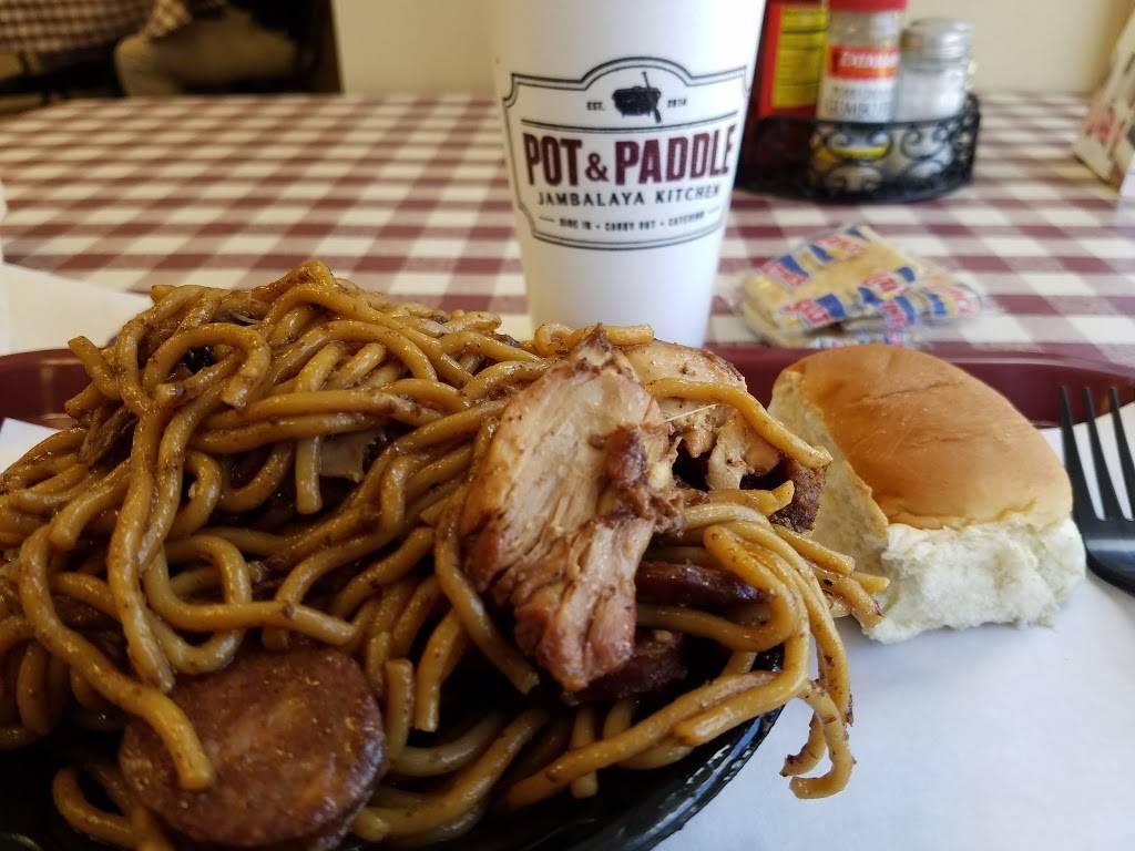 Pot & Paddle Jambalaya Kitchen | restaurant | 2819 Cabelas Pkwy d, Gonzales, LA 70737, USA | 2256447687 OR +1 225-644-7687